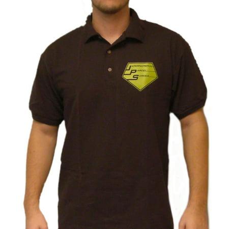 International Parcel Service Polo T-Shirt King Of Queens Doug Heffernan (Kiki's Delivery Service Costume Pattern)