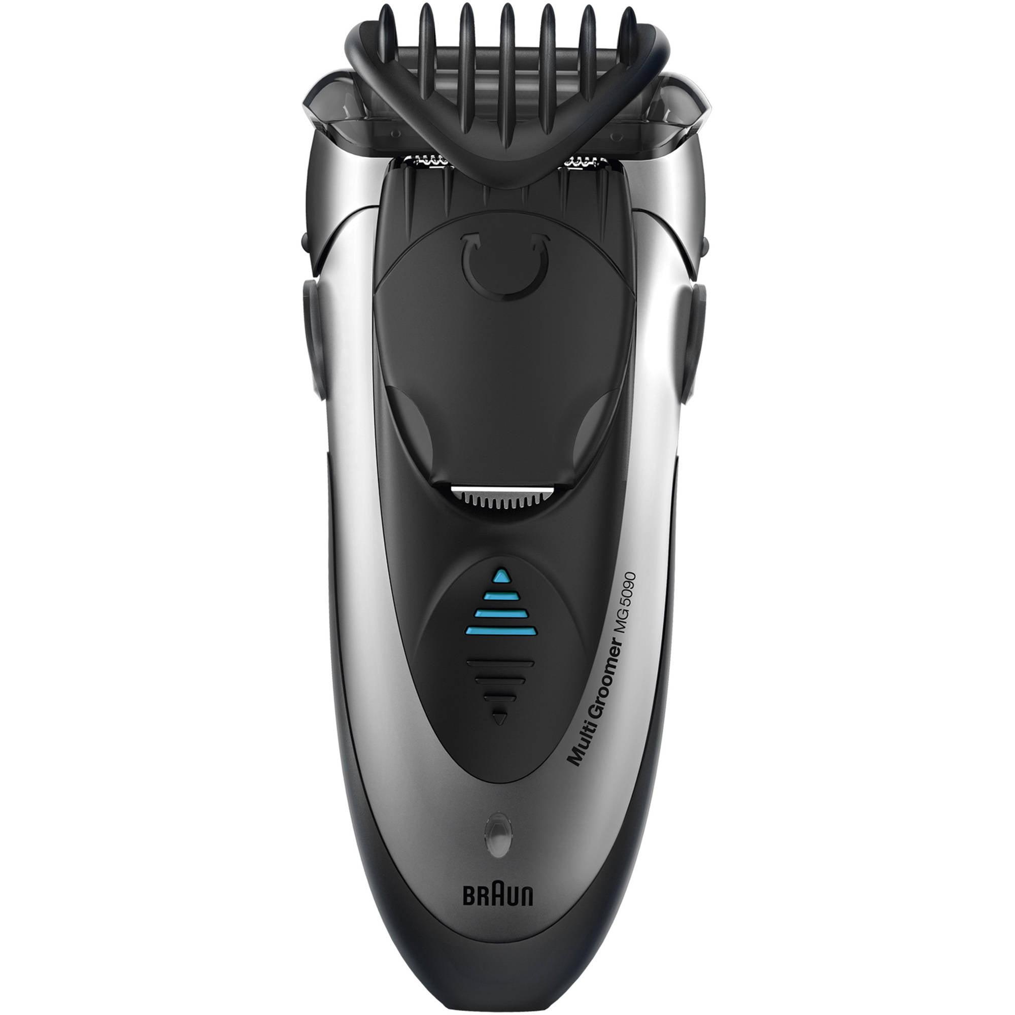 Máquina De Afeitar Braun mojado y seco Multi peluquero, MG5090, 6 pc + Braun en Veo y Compro