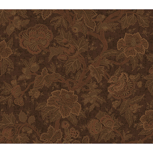 Blue Mountain Brighton Wallcovering, Chocolate
