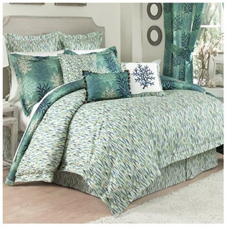 Waverly Marine Life Reversible Bedding Comforter Set