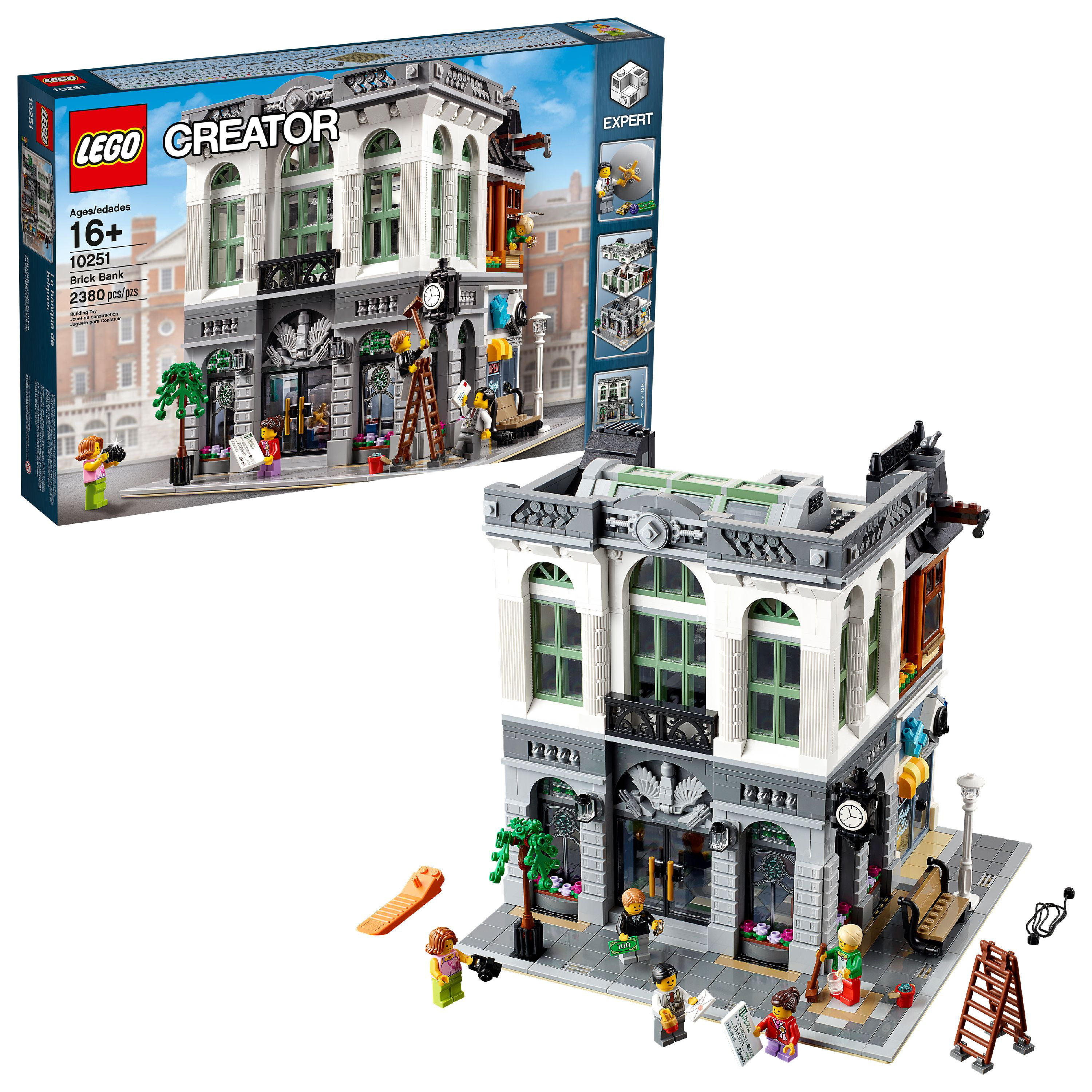 Lego Creator Expert Brick Bank 10251 (2,380 Pieces) by LEGO System Inc