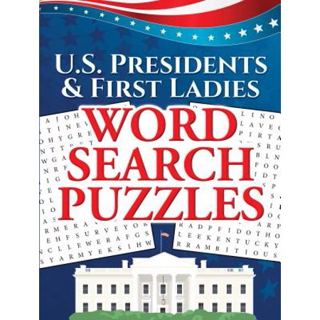 U.S. Presidents & First Ladies Word Search Puzzles