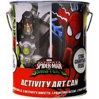 Spiderman Small Activity Art Can