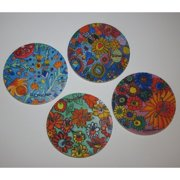 Metrotex Designs 4 Piece 'Artists with Autism' Design Coaster Set
