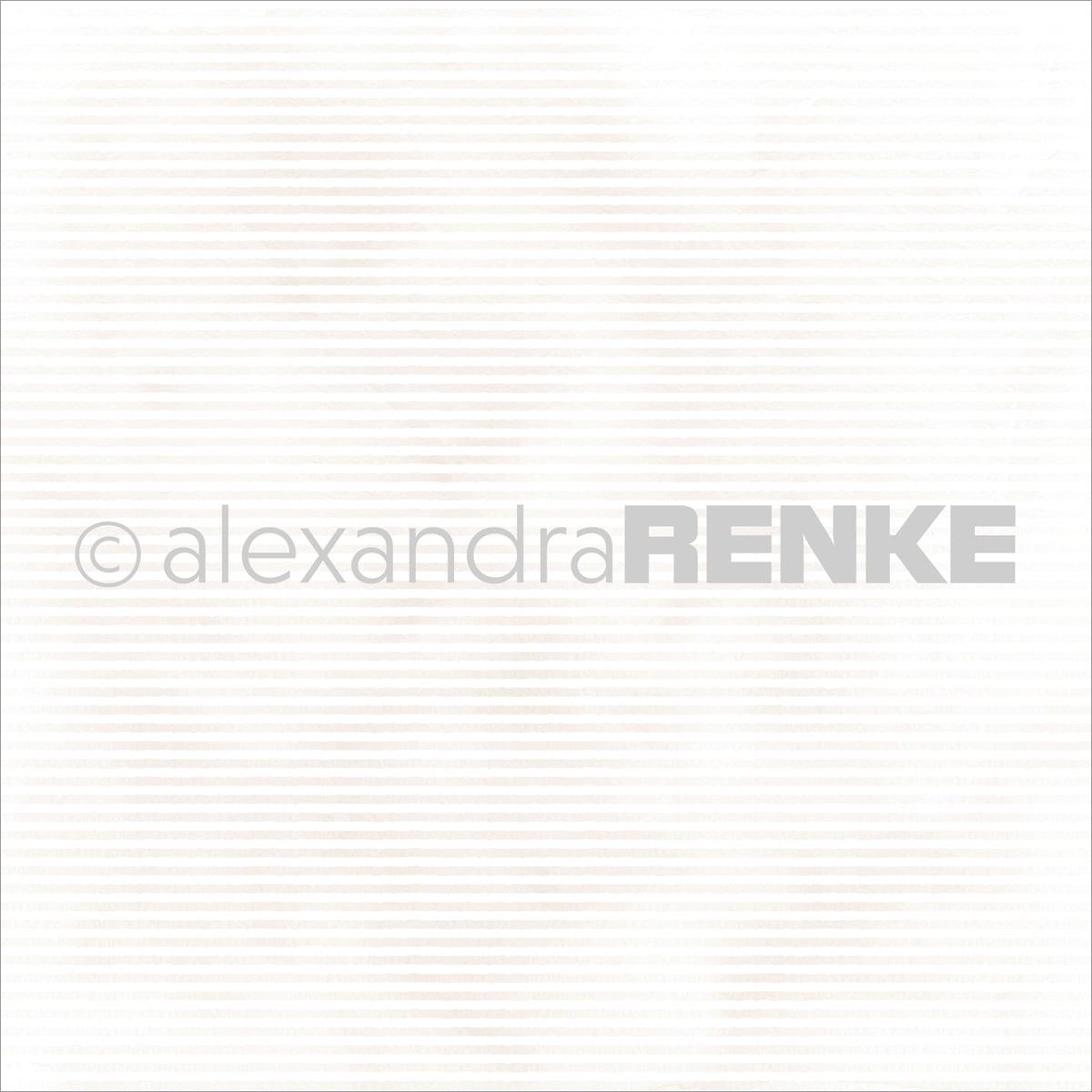 "Alexandra Renke Mimi's Basic Design Paper 12""X12""-Gold Stripes"