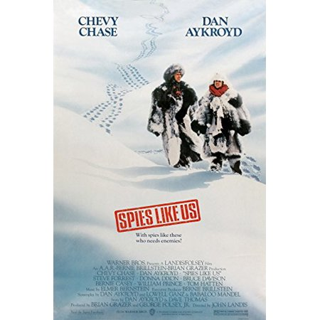 Spies Like Us  1985  Movie Poster 24X36 Inches Chevy Chase