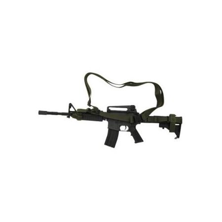 Voodoo Tactical 3 Point Rifle Sling, Black -
