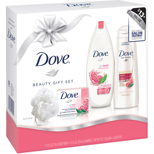 Dove Beauty Gift Set, 4 pc - Walmart.com