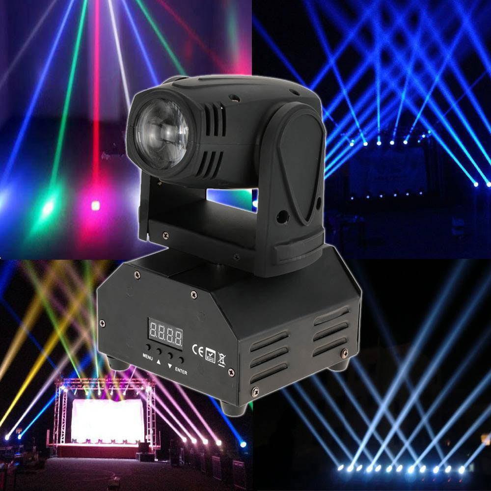 Ktaxon 10W RGBW Mini Moving Head Light DJ Stage Disco Club Show Lighting DMX512