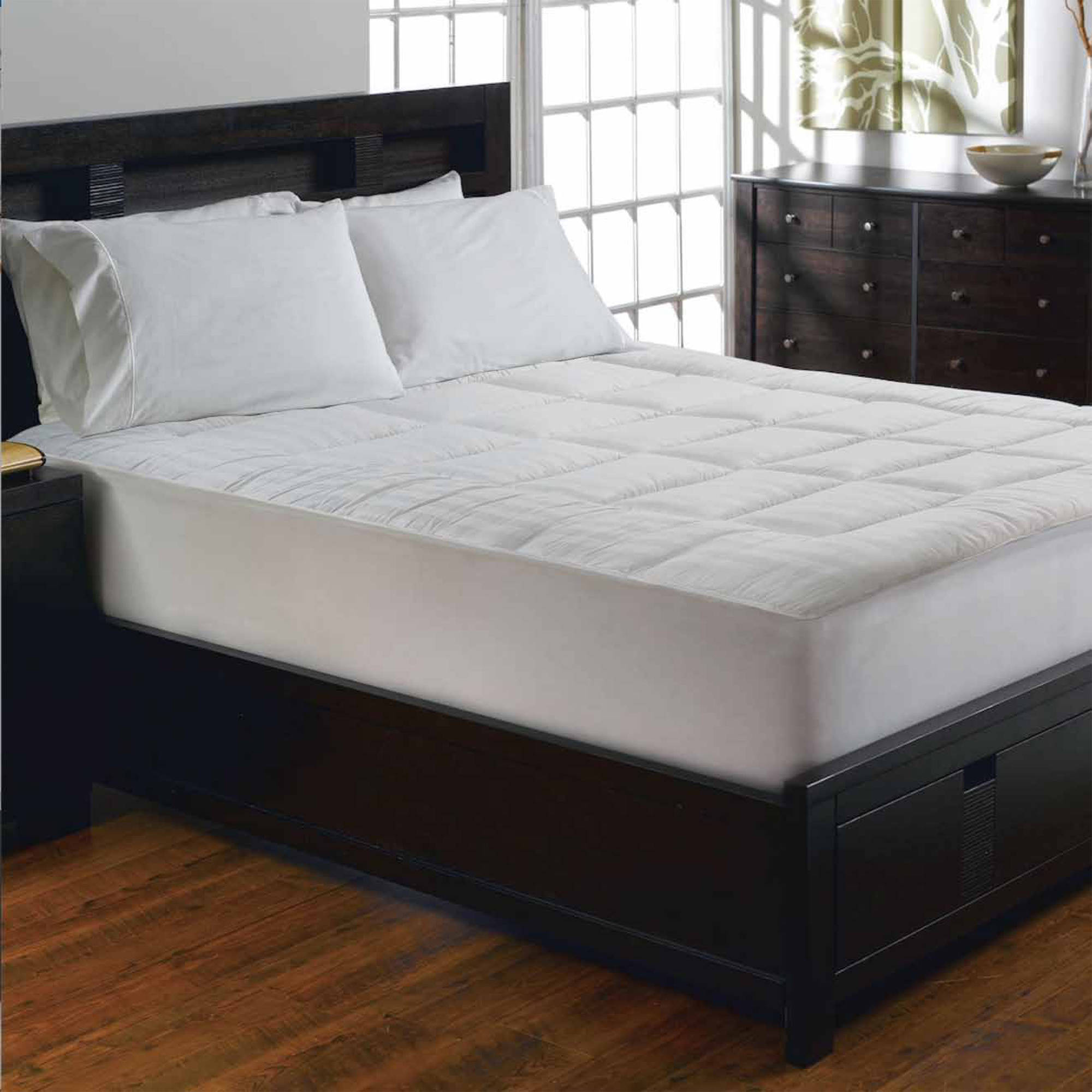Better Homes and Gardens Snap 'N Wash Mattress Pad, Multiple Sizes -  Walmart.com