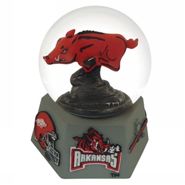 Paragon Innovations Company ArkansasUICGlobe NCAA Arkansas University Mascot Musical Snow Globe