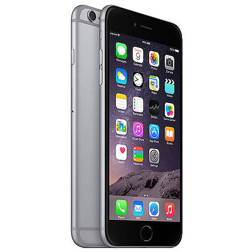 Refurbished Apple iPhone 6 Plus 128GB, Space Gray - Locked AT&T