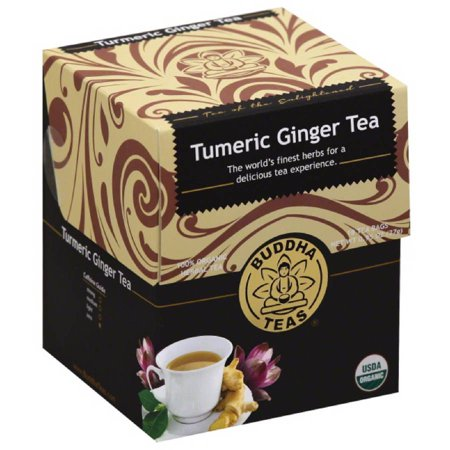 Buddha Teas Turmeric Ginger Tea, 0.95 oz, (Pack of 6) - Walmart.com