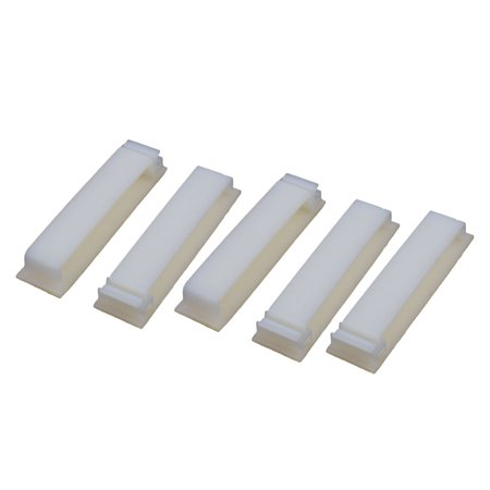 5pcs FC 50 Double Side Self Adhesive Cable Ties Wire Orgnizer Clip Off