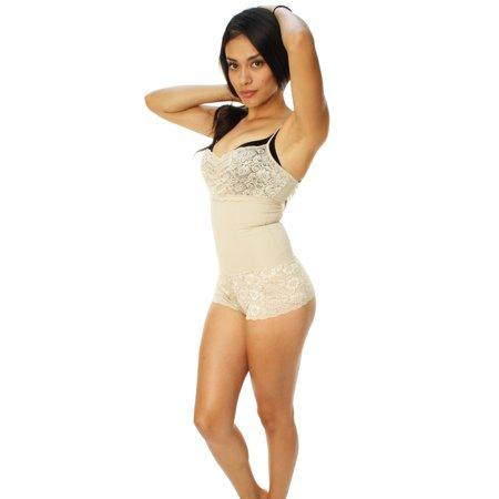 d27c43493e336 Raf Over - Raf Over Women s Body Moldeador Cachetero Body Sculpting  Shapewear - Walmart.com