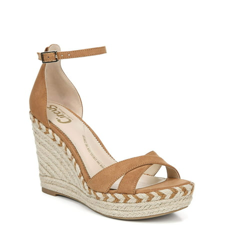 Women's Circus by Sam Edelman Renee Wedge Espadrilles - Saddle Shoe
