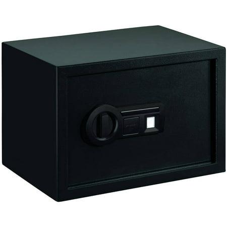 STACK-ON PS1510B PERSONAL SAFE BIOMETRIC LOCK 13.88 X 9.88 X 9.88 BLACK
