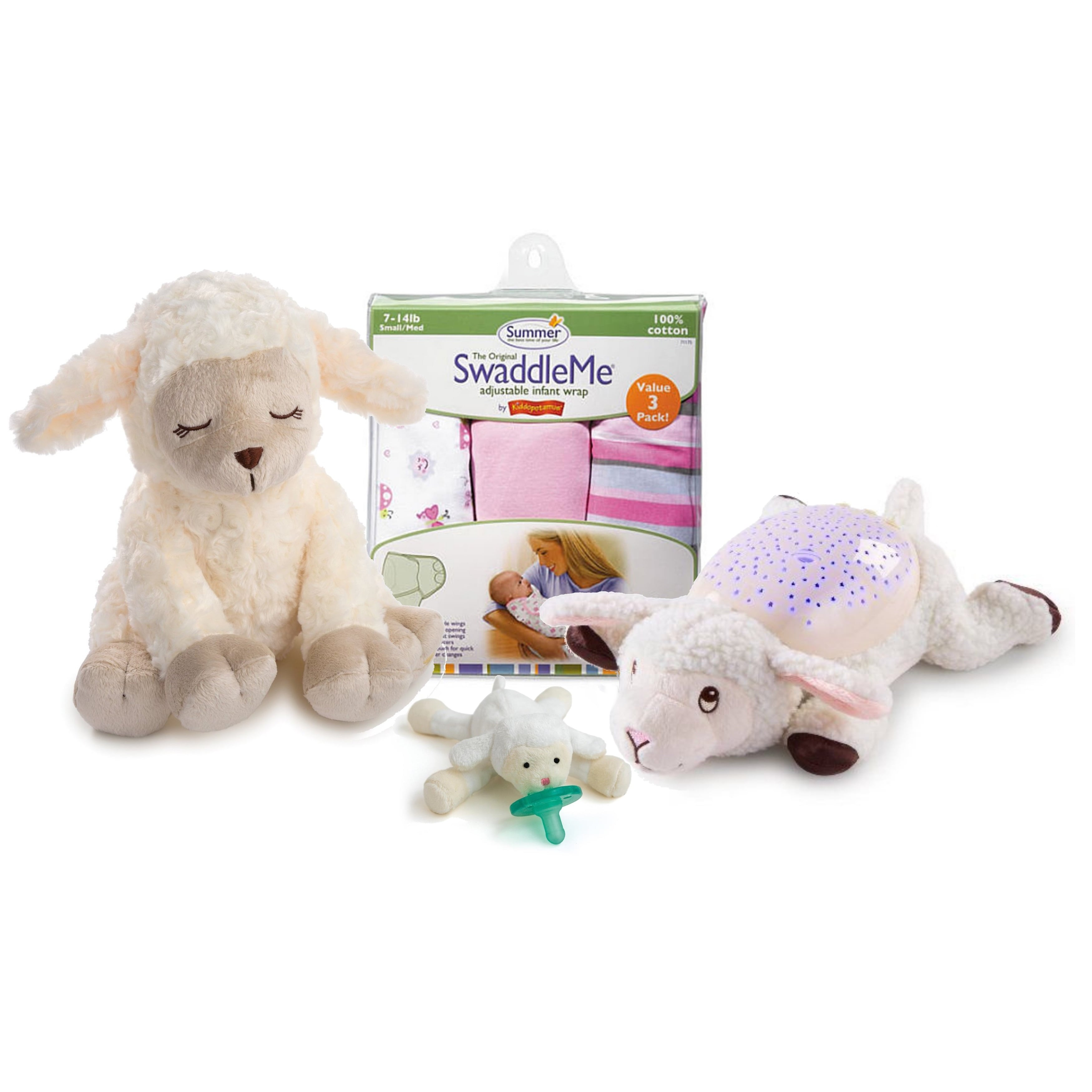Summer Infant  Soothing Sounds and Lights Little Lamb wit...