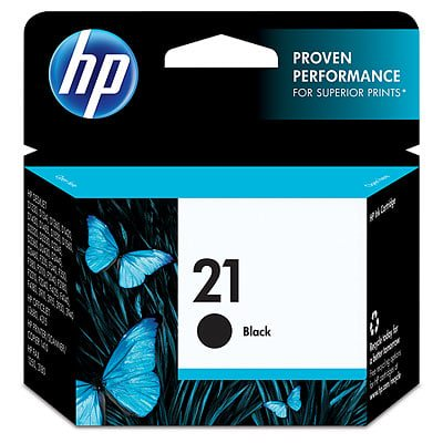 HP 21 Black Original Ink Cartridge (Hp 21 Black Inkjet Print Cartridge C9351a)