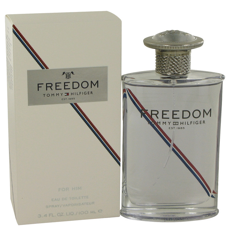 Tommy Hilfiger Freedom 3.4 oz Eau De Toilette Spray (New Packaging) For Men