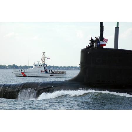 The fast-attack submarine returned to the Northrop Grumman Newport News, Va. shipyards after success Poster Print 24 x 36](Party City Newport News Va)