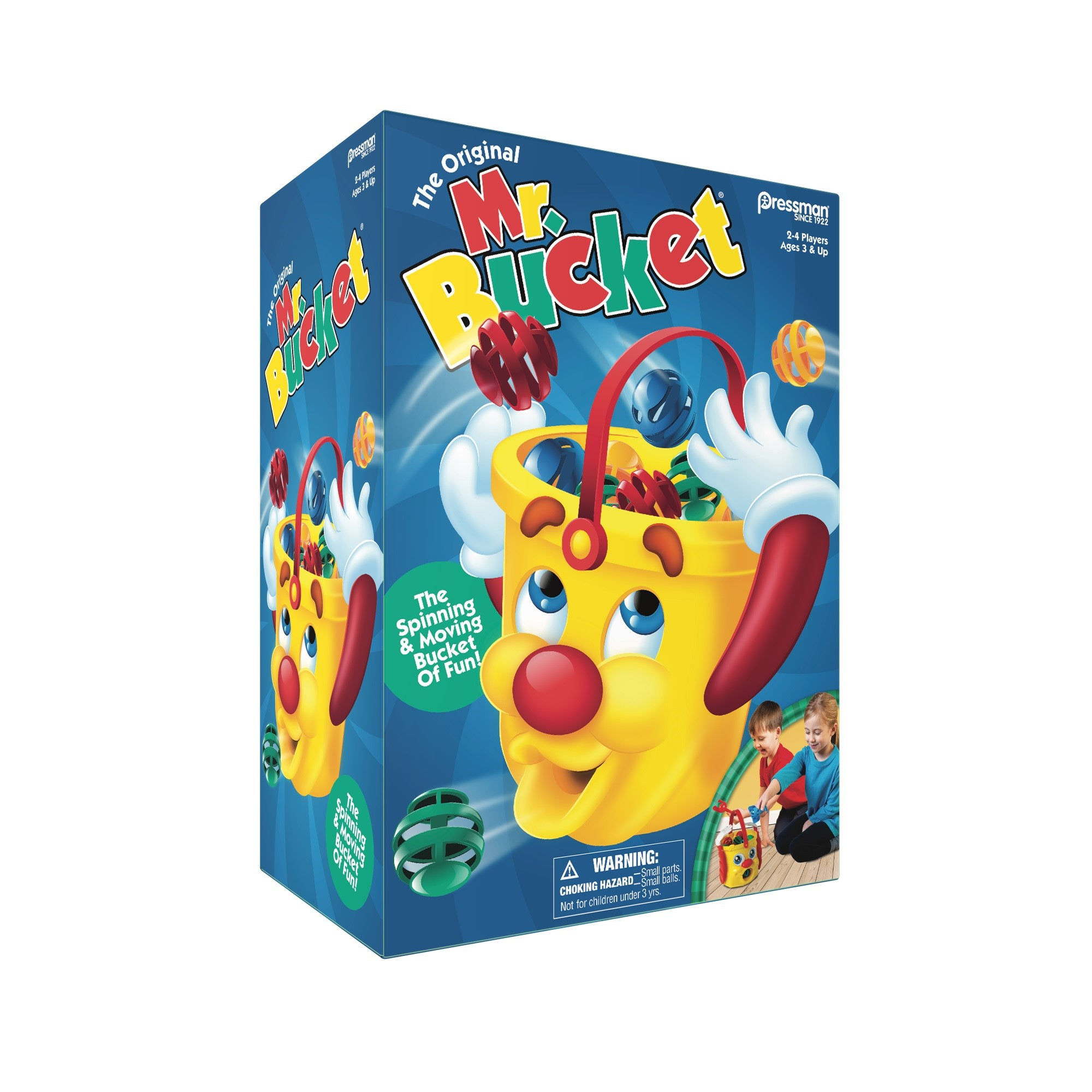 Pressman Toy Mr. Bucket Kids Game for Ages 3 and Up by Pressman