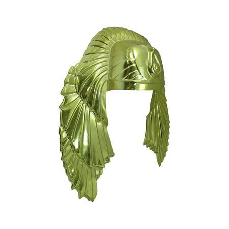 Adult Mens King tut headpiece Egyptian Male Pharoah Headpiece Costume Accessory (Egyptian Costume Male)