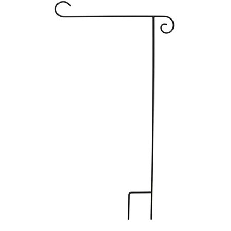Wrought Iron Black Garden Flag Stand 40 H Briarwood Lane Wrought Iron Black Garden Flag Stand 40 H Briarwood Lane condition: New Brand: Briarwood LaneMPN: A00003Material: Wrought Iron