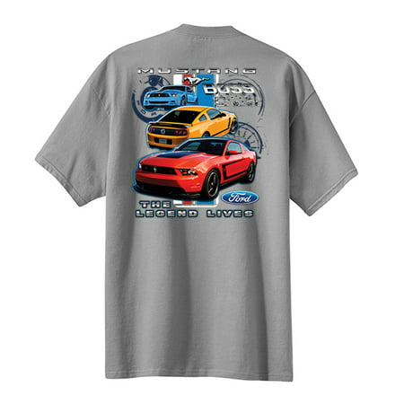 Youth Legend (Ford Mustang Boss 302 Youth T-shirt Legend Lives)