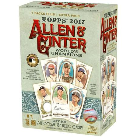 2017 Topps Allen & Ginter MLB Trading Card Blaster Box ()