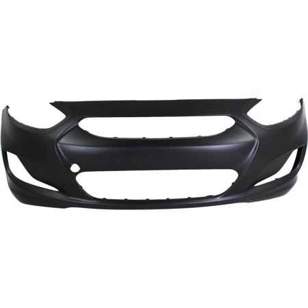 NEW FRONT BUMPER COVER PRIMED FITS 2012-2014 HYUNDAI ACCENT 865111R000 (Hyundai Accent Front Bumper Cover)