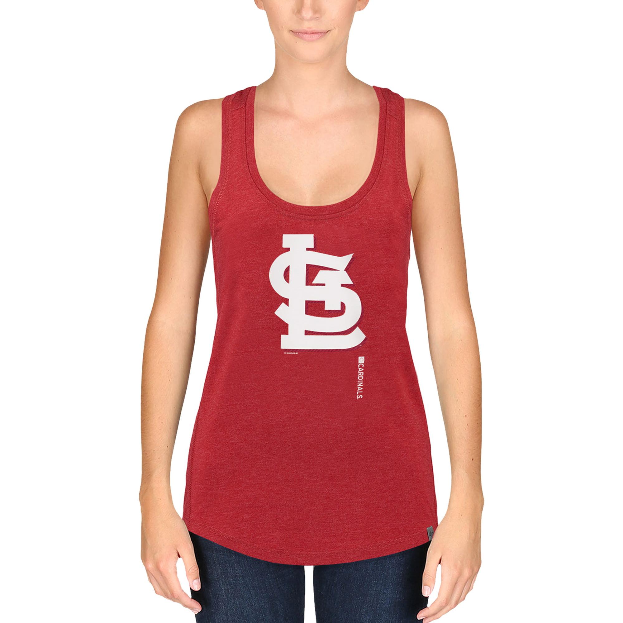 St. Louis Cardinals '47 Women's High Point Tank Top - Red
