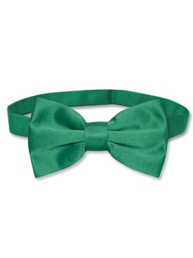 7050c3e925f1 Product Image Vesuvio Napoli BOWTIE Solid EMERALD GREEN Color Men's Bow Tie  for Tuxedo or Suit