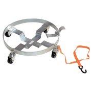 Vestil DRUM-QUAD-H-TLT Multipurpose Tilting Drum Dolly, 900 lbs by Vestil