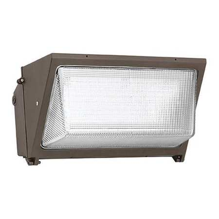 "LED Wall Pack,97W,12,000 lm,9"" H HUBBELL LIGHTING - OUTDOOR WGH-225L-5K-U-L"
