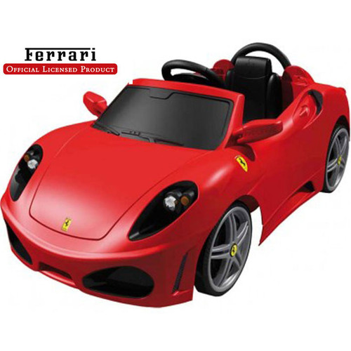 Amazing Big Toys Feber Ferrari F430 6V Battery Powered Car Idea