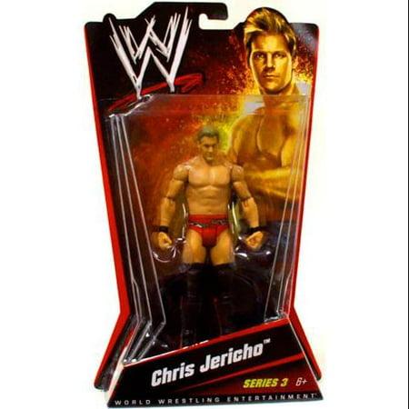 Chris Jericho Wrestling Figure - WWE Wrestling Basic Series 3 Chris Jericho Action Figure