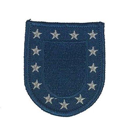 e326f9aa73cd US ARMY BERET FLASH PATCH STANDARD BLUE W/ WHITE STARS - Walmart.com