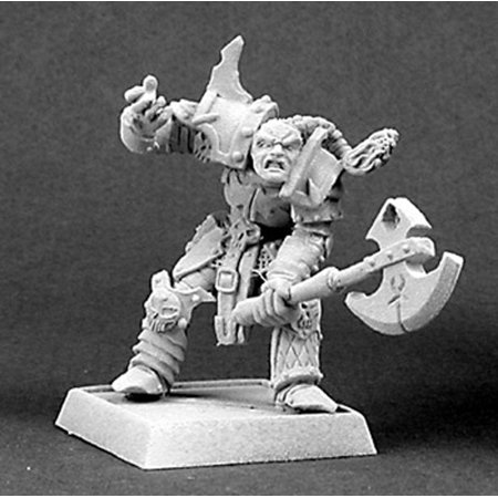 Reaper Miniatures Rogran, Overlords Hero 14286 Warlord, Overlords Unpainted Mini