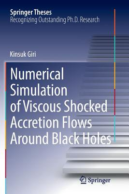 Numerical Simulation of Viscous Shocked Accretion Flows Around Black Holes