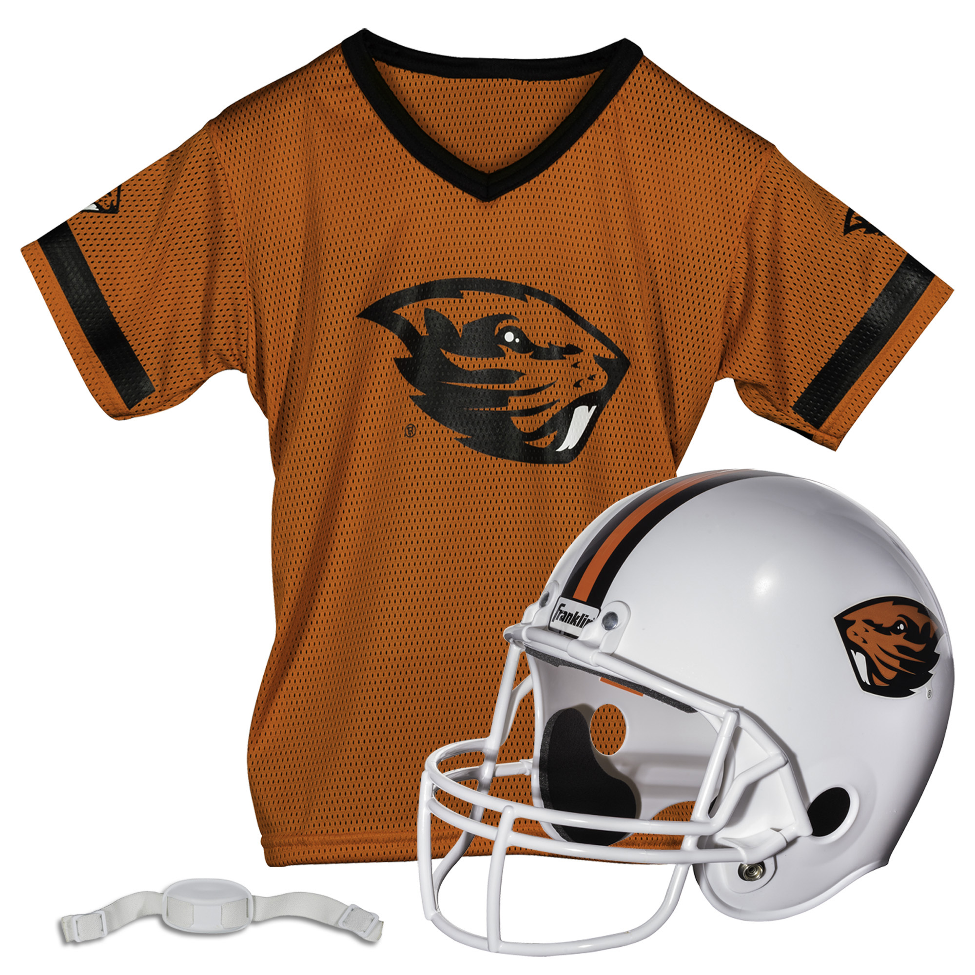 Franklin Sports NCAA Oregon State Beavers Helmet Jersey Set