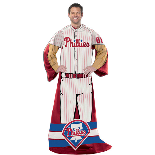 "MLB Philadelphia Phillies Player 48"" X 71"" Full Body Comfy"