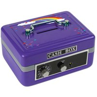 Personalized Rainbow Cash Box
