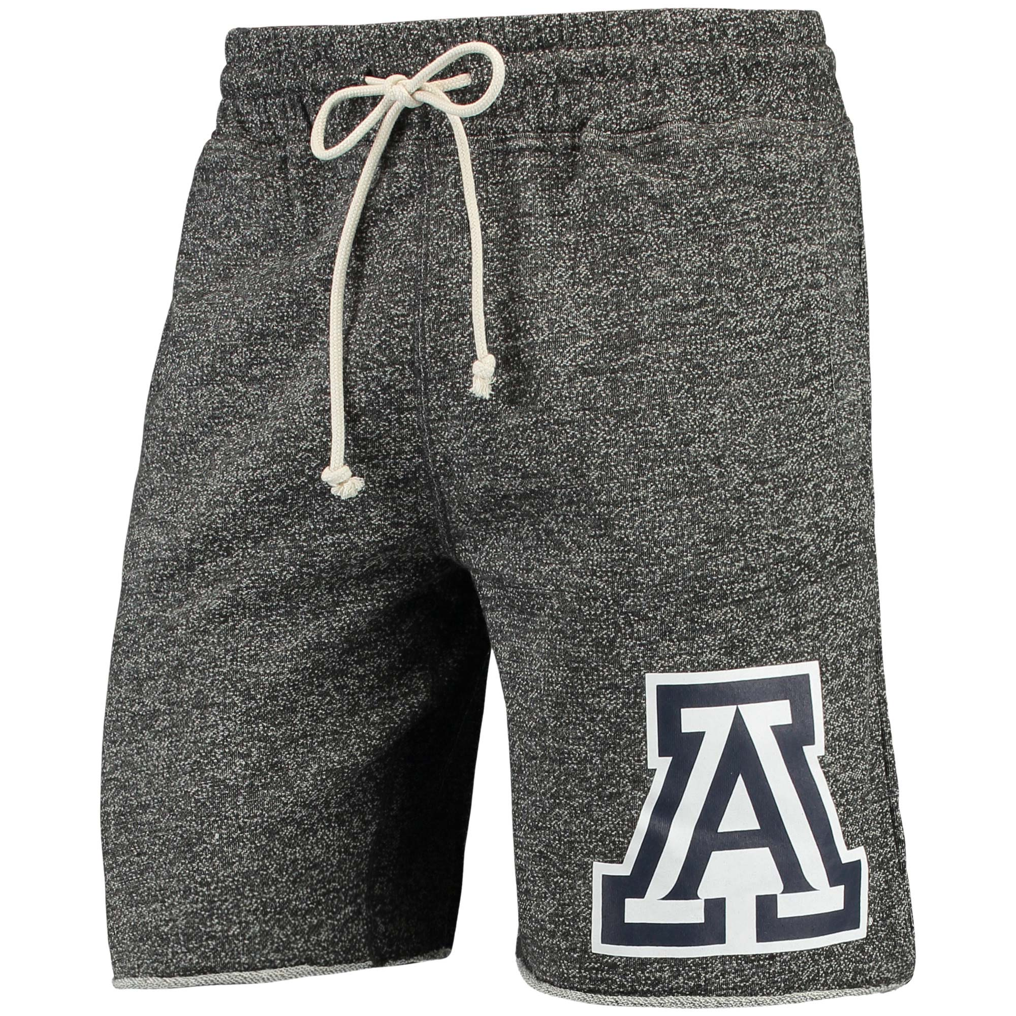 Men's Concepts Sport Charcoal Arizona Wildcats Pinpoint French Terry Shorts
