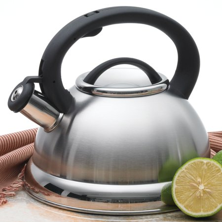 3 Quart Whistling Tea Kettle (Creative Home Alexa 3 qt. Whistling Tea)