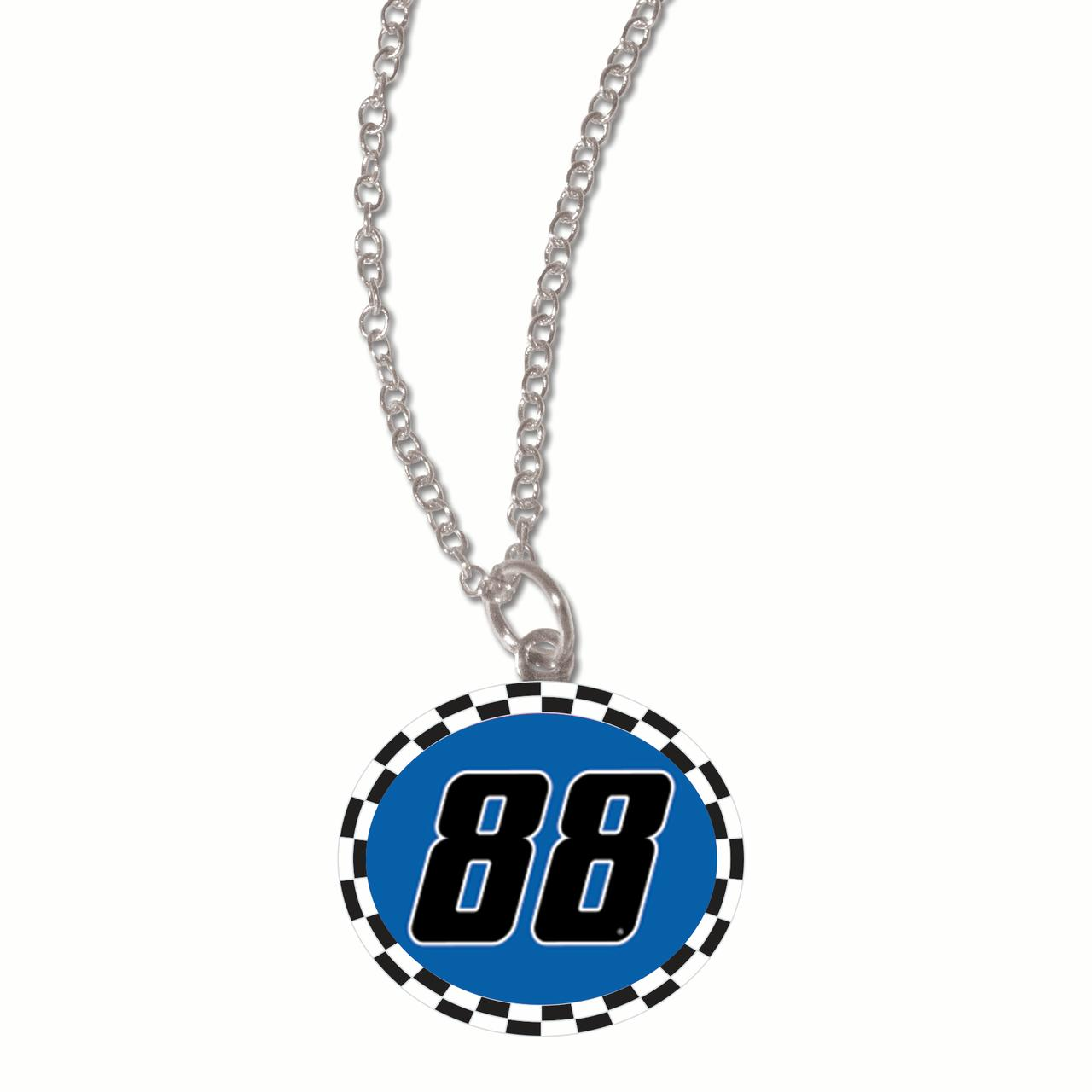 Alex Bowman WinCraft Driver Round Hard Insert Necklace - No Size