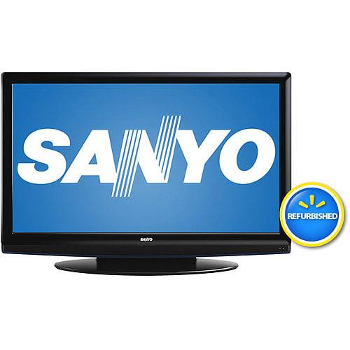 "Sanyo DP52449 52"" Class LCD 1080p 120Hz HDTV, Refurbished"