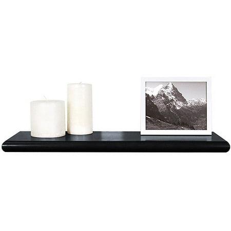 beveled hidden bracket floating wood wal. Black Bedroom Furniture Sets. Home Design Ideas