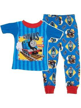Thomas the Tank Cotton Pajama for Baby Boy, Blue, Size: 18M