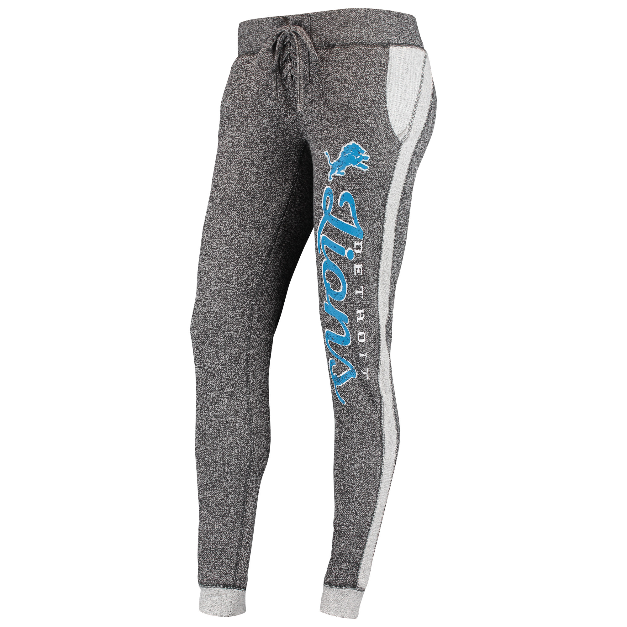 Detroit Lions Concepts Sport Women's Walk Off Pants - Charcoal